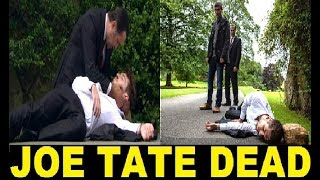 Emmerdale JOE TATE Dead! Shot & Buried By GRAHAM FOSTER & CAIN DINGLE! Actor NED PORTEOUS On Exit!