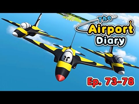 The Airport Diary - 73-78 - episodes - Cartoons about planes