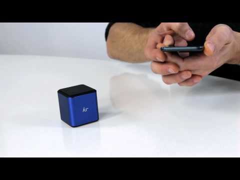First look: KitSound Cube Bluetooth Speaker