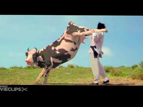 نسخة عن Kung Pow Enter the Fist 45 Movie CLIP   Cow Fight 2002 HD