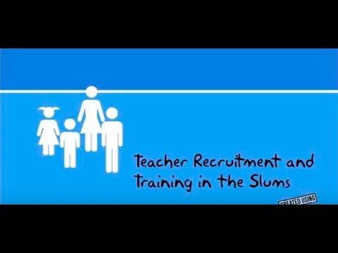 Teacher Training in the Slums