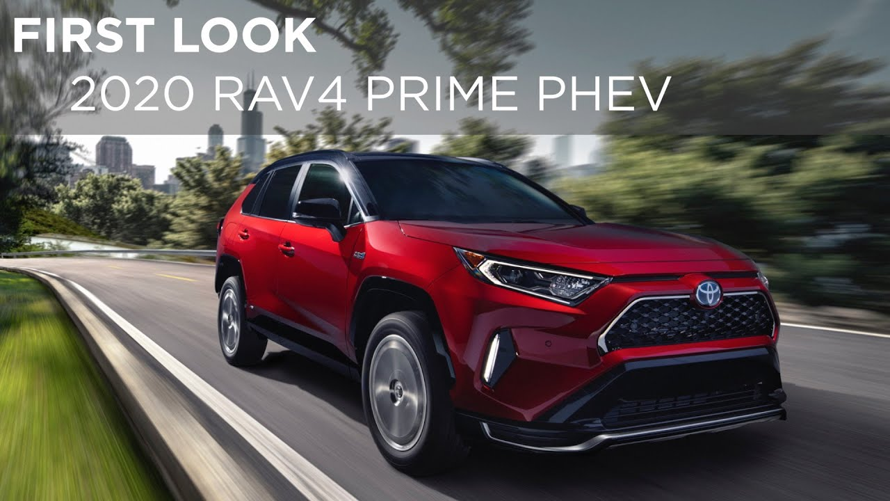 2020 Toyota Rav4 Prime Phev First Look Driving Ca
