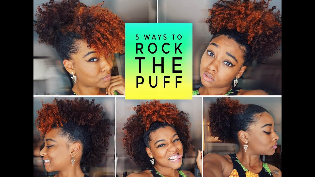 Easy Cute Puff Styles Big With Bangs Frohawk More