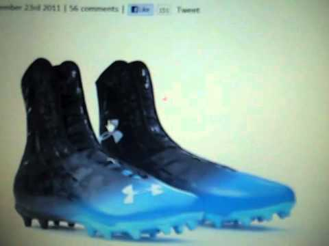 cam newton highlight cleats