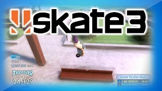 Skate 3 Hall of Meat Funny Moments w/ fourzer0seven - Crazy Drops, Cactus Sex, and Tornado!
