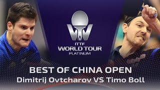 FULL MATCH - Dimitrij Ovtcharov vs Timo Boll (2017) | BEST of China Open