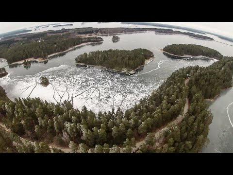 Tour Skating on Lake Saimaa | Punkaharju, Finland