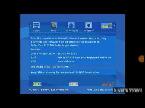 Epg is updating service list dish tv