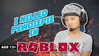 J'ai tué Pewdiepie à Roblox !