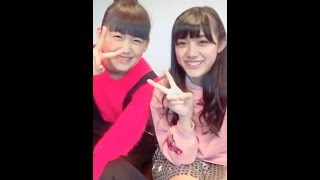 20161211 LINELIVE 原宿駅前パーティーズ 三根優希(原宿乙女)、田谷菜...