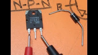 how to find transistor base emitter collector with multimeter? how to check pnp and npn? electronics