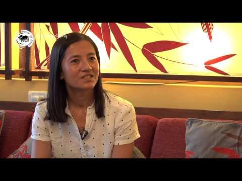བོད་ཀྱི་བེུད་ཅེས་པའི་ལེ་ཚན། Women of Tibet series: Writer and Poet Tsering Wangmo Dhompa