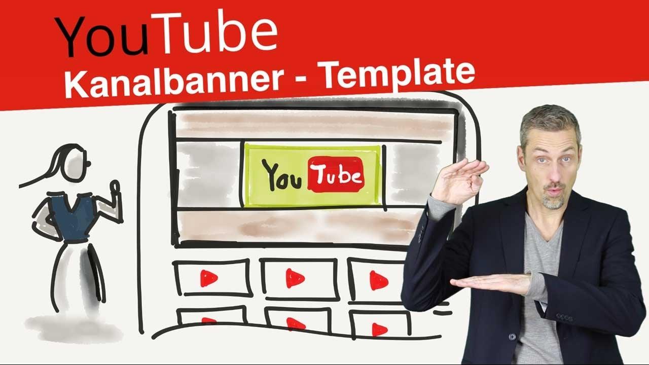 Youtube Kanal Banner Vorlage - Schneller eignes Kanal Bild erstellen ...