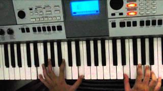 Gambar cover (slow version for piano tutorial) Terlatih Patah Hati by The Rain ft. Endank Soekamti