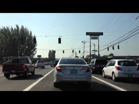 INSIDE THE CITY OF FIFE,  WASHINGTON IN 3D AND HD