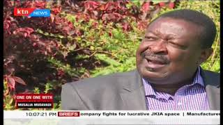 ANC leader  Musalia Mudavadi explains his criticism to the national government