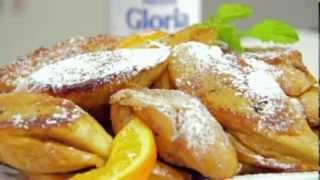 Les recettes GLORIA avec Lissa : le pain perdu