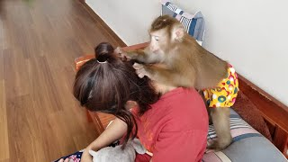 Monkey Baby Nui Girls love the whole family here