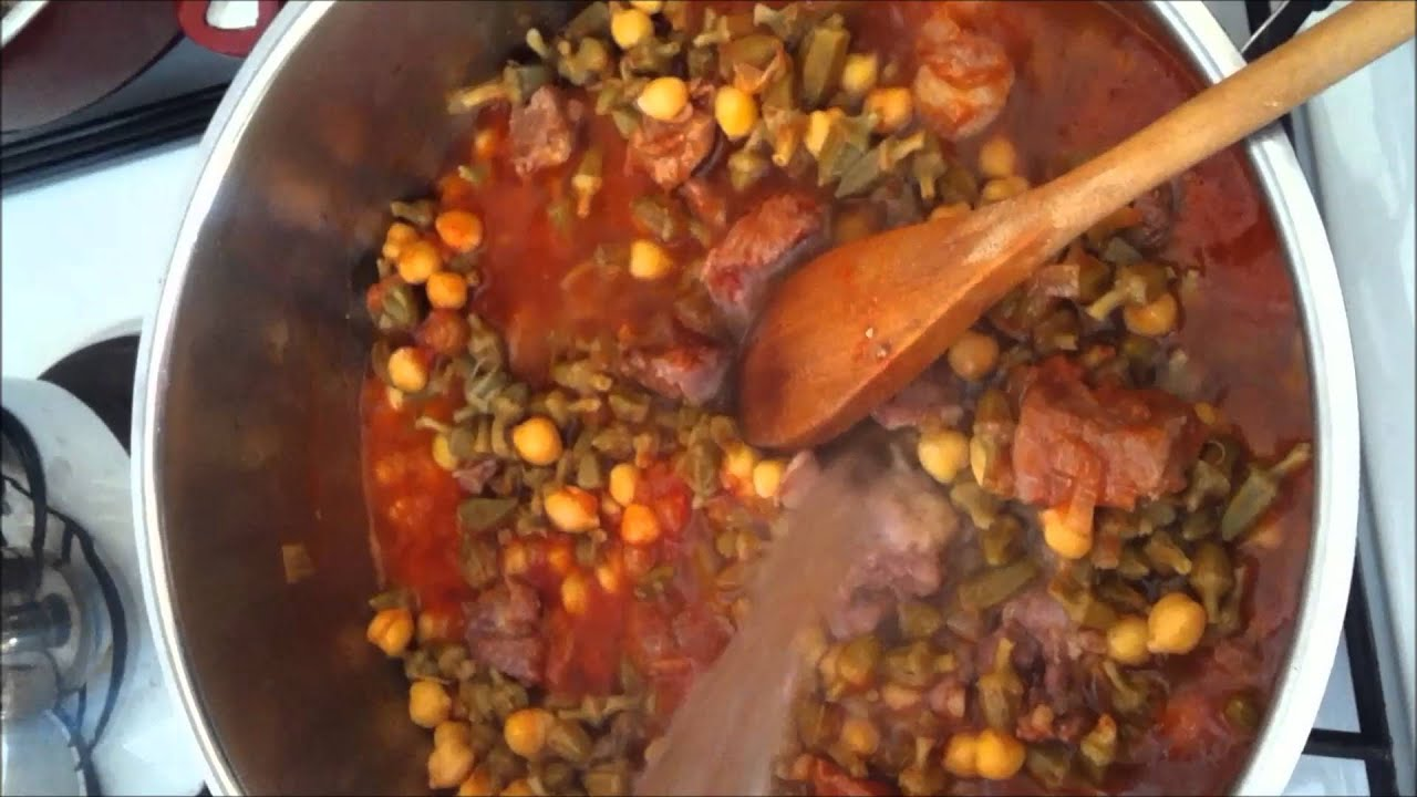 Zeytinyağlı Kuru Bamya Yemeği Tarifi Videosu