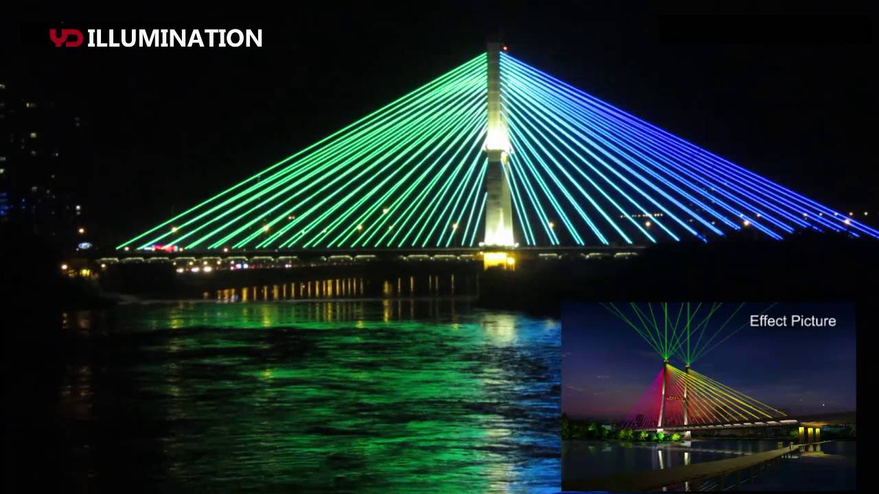 Yd Bridge Lighting Project Reference Youtube