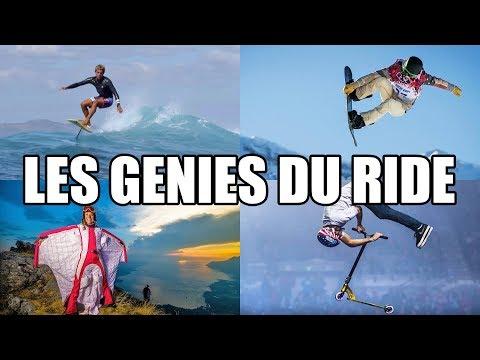 Les génies du ride, des athlètes hors du commun !