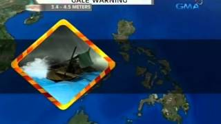 24 Oras: Temperatura sa Baguio City, bumagsak sa 10.4 degrees Celsius