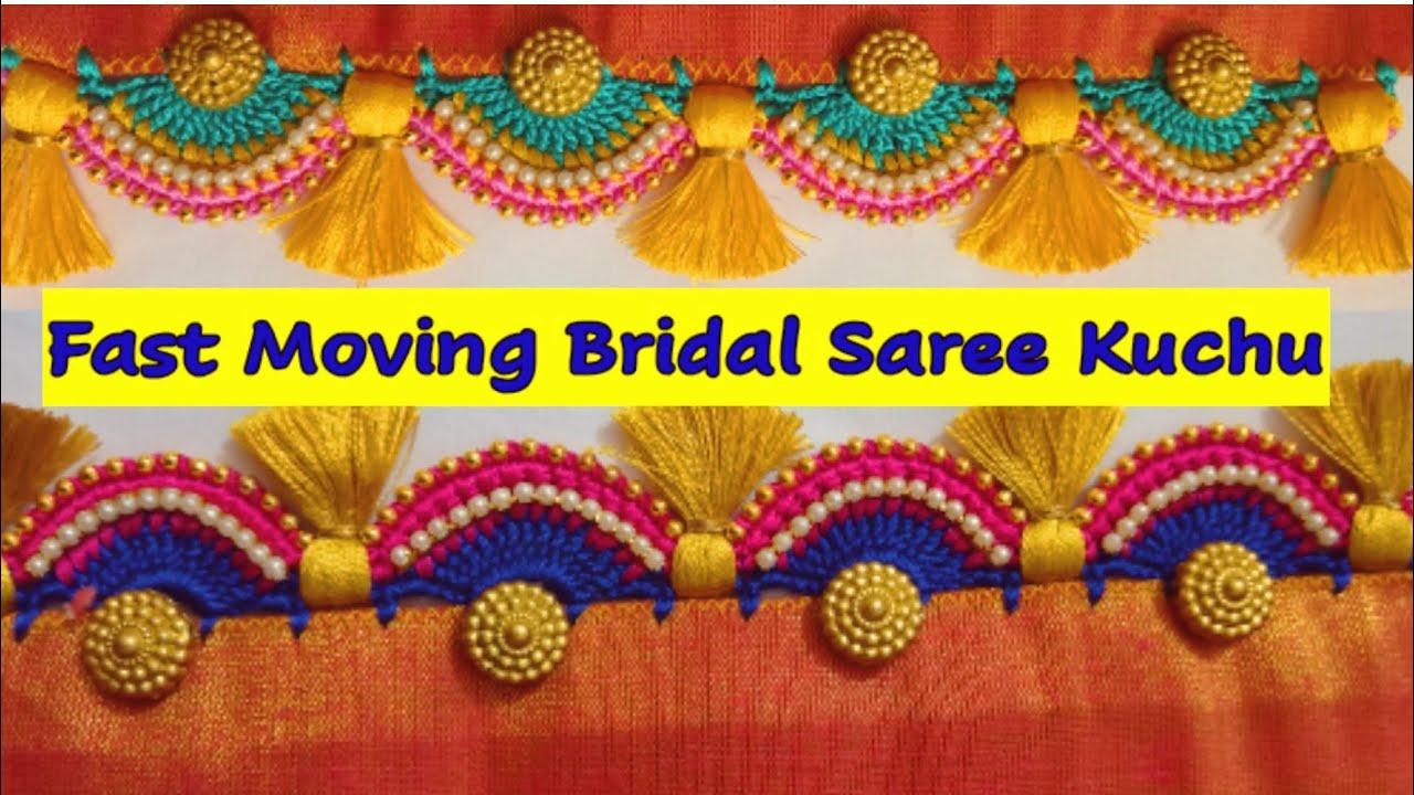 #sareekuchu #161 // #bridalsareekuchu // saree kuchu // bridal kuchu / #siricreations