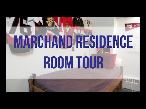 Marchand Residence Room Tour - University of Ottawa