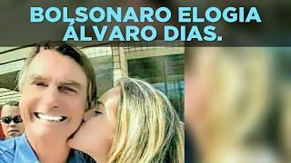 VÍDEO 4087. BOLSONARO ELOGIA ÁLVARO DIAS.
