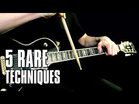 5 rare guitar techniques just for fun