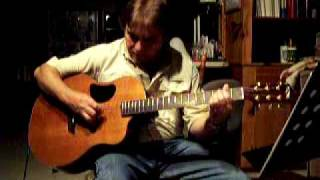 blackbird by the Beatles done by Jack Stebbins in Clarksville Virginia on a McPherson Guitar
