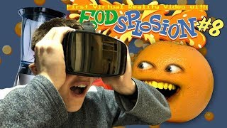REAL LIFE ON SCREEN || Jack does Virtual Reality with Annoying Orange