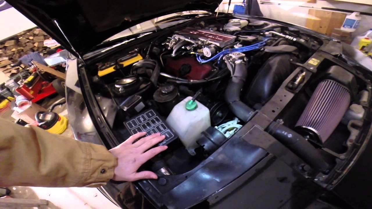 Nissan 300zx (Z31) Vacuum Lines Diagnostics | The Drive
