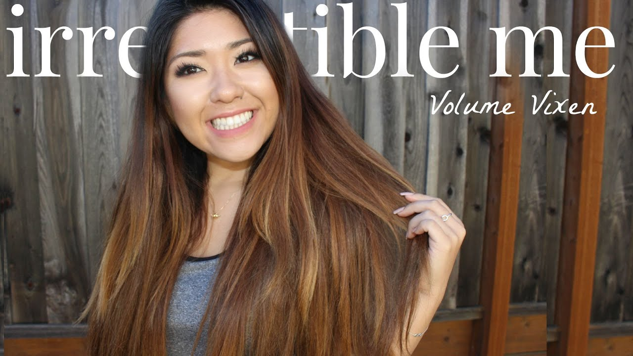 Irresistible Me Volume Vixen Hair Extensions Review Youtube