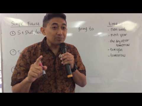 Bahasa Inggris 9 Simple Future Tense