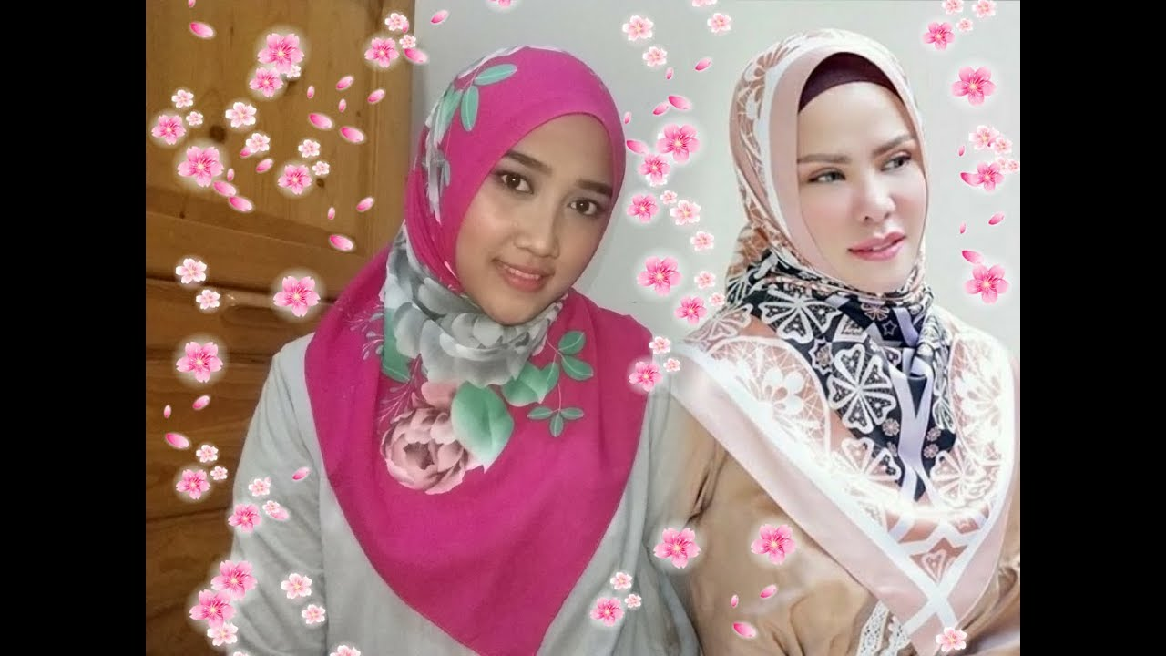 Tutorial Hijab Angel Lelga Terbaru Segi Empat