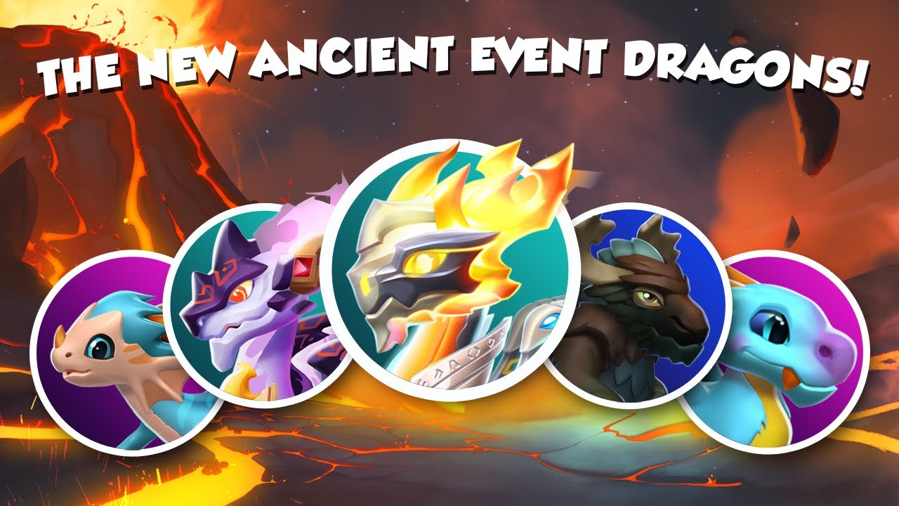 Dragon Legends: Dragon Mania Legends: New Dragons In The Ancient Event