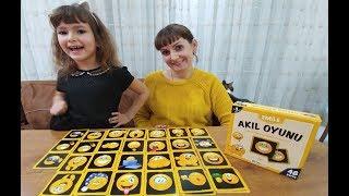 SMİLE HAFIZA OYUNLARI, AKIL OYUNLARI , Eğlenceli Çocuk videosu, toys unboxing