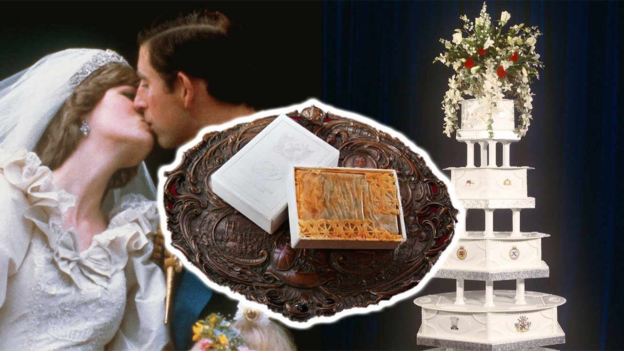 A 40-Year-Old Slice Of Princess Diana's Royal Wedding Cake Is Going Under Auction In Britain