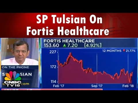 SP Tulsian On Fortis Healthcare | ECL Fin Cuts Stake In Fortis | 21st Feb | CNBC TV18