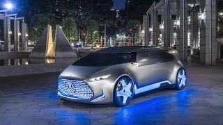2015 Mercedes-Benz Vision Tokyo Concept Interior and Exterior