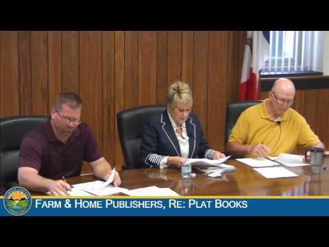 Hardin County Board of Supervisors Meeting 8-24-2016