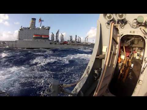 Life Underway On A US Navy Ship