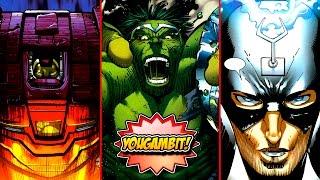"Mega-videocomic: ""guerra mundial hulk/world war hulk""'  parte 1 de 5 - historia completa"