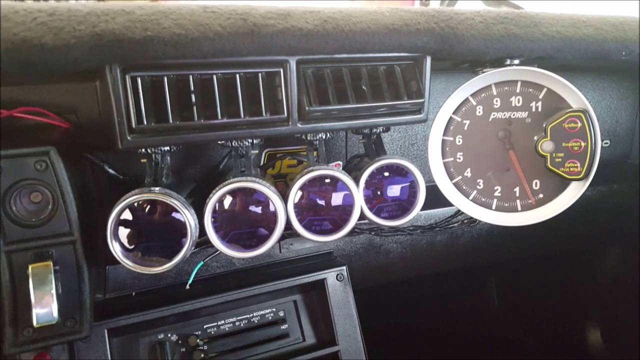 82 92 Camaro Push Button Youtube