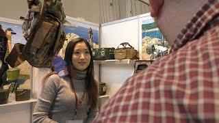 Китайцы порвут всех!!! Рыболовные стенды на выставке в Москве.