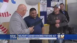 Community Honors North Texas Walmart Cashier Who Paid For Customer's Groceries