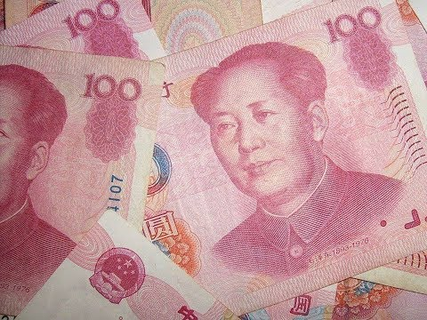 China currency Yuan renminbi is backed by gold reserves and is thriving more than others