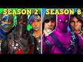 RANKING EVERY 'BATTLE PASS BY SKIN' FROM WORST TO BEST! (Fortnite Battle Royale!)
