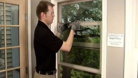 How To: Replace or Reset a Window Balancer